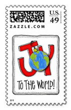 joy to the world postage